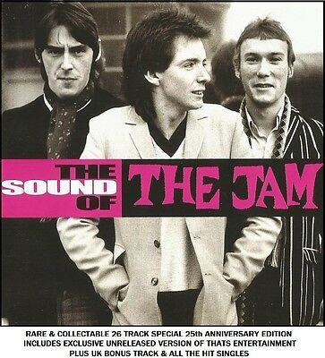 The Jam The Very Best Essential Greatest Hits Collection CD MOD 70's Paul Weller