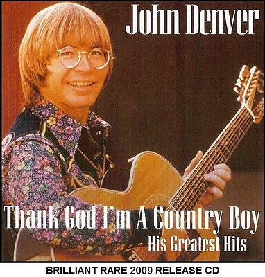 John Denver Very Best Greatest Hits Collection - RARE Country Folk Americana CD