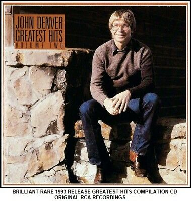 John Denver - Very Best Greatest Hits Collection RARE Country Folk Americana CD