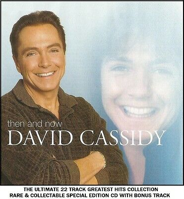 David Cassidy - Very Best Greatest Hits Collection RARE CD 70's Partridge Family