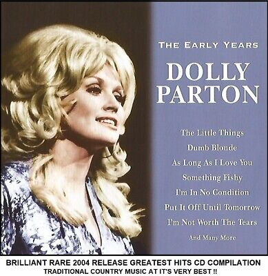 Dolly Parton - A Very Best Greatest Hits Collection - 60's 70's Country Music CD
