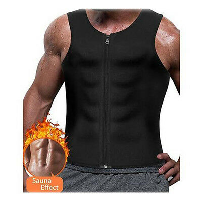 Men Waist Trainer Vest for Weightloss Compression Sweat vest Hot Neoprene Corset