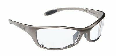 BOLLE Spider CLEAR Lens Safety Cycling Sport Glasses - New Sealed + BOLLE POUCH