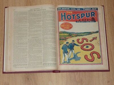 The Hotspur Comics - 12th Jan to 28th Dec 1946 - Full Year Bound Volume