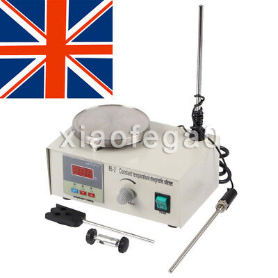 Laboratory Lab Magnetic Stirrer with Heating Plate 85-2 Hotplate Mixer UK Ship