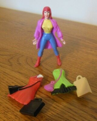 Marvel 1994 McDonalds Happy Meal Mary Jane Watson with Clip-On Fashions #5
