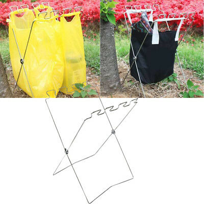 Small Size Of Foldable Car Garbage Can Leakproof Auto Trash Bag Seat Hanging With