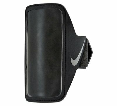 Nike Lean  Lightweight Smartphone Phone Arm Band  Running Gym Sports Black
