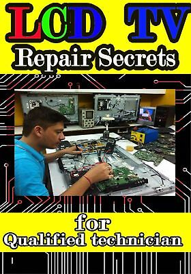 LED/LCD TV Repair Secrets PDF book Fast  Delivery