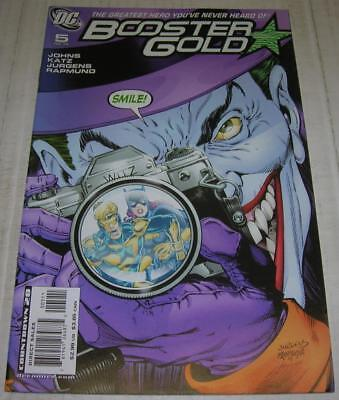 BOOSTER GOLD #5 (DC Comics 2008) JOKER & BATGIRL (VF-) KILLING JOKE flashback