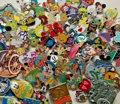 Disney trading lot of 500+50_Assorted pins 3D LE-Hidden mickey-rack-cast EMS/DHL