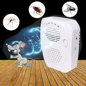 Ultrasonic^ Pest Repellent Plug Professional Home Applicance Electronic Indoor ^