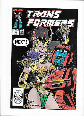 """Transformers #53  [1989 Vf-]  """"recipe For Disaster!"""""""