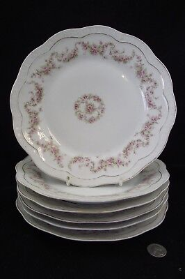 "6 Orleans Bavaria  9.5"" Dinner Plates Z.s.co"