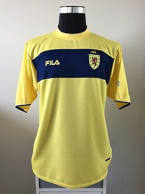 Scotland Away Football Shirt Soccer Jersey 2002/03 (L)