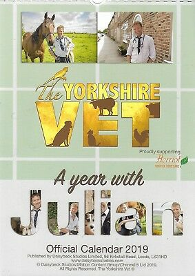 The Yorkshire Vet A Year With Julian Official Calendar 2019