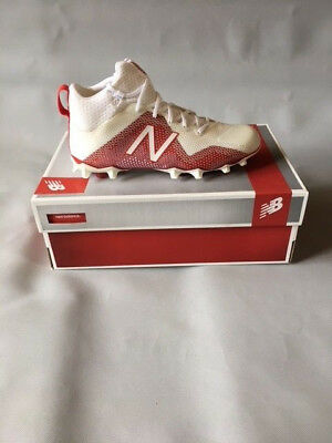 Mens Lacrosse Cleats Size SS US New Balance White / Red