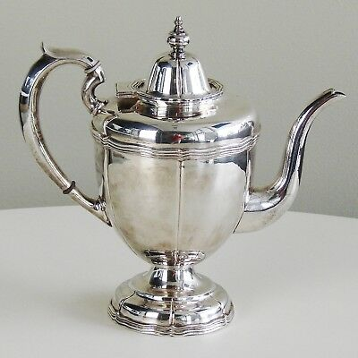 Vintage Antique SIGNED Sandborns Taxco Mexican Sterling Silver Teapot Art Deco