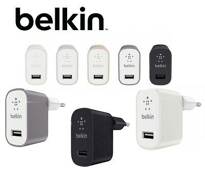 Belkin MIXIT Metallic Home EU Charger FASTER CHARGING UNIVERSAL COMPATIBILITY
