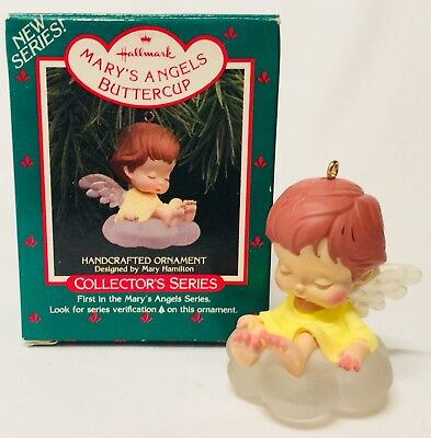 Hallmark Keepsake Mary's Angels Buttercup 1st In Series 1988 B