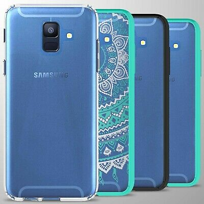 For Samsung Galaxy A6 2018 Case Hard Back Bumper Slim Shockproof Phone Cover