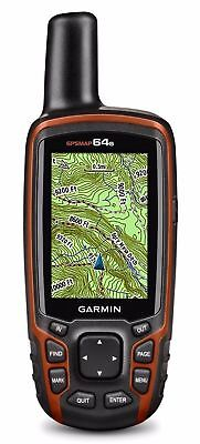 Garmin GPSMAP 64s, High-Sensitivity, Worldwide Basemap, Handheld GPS, GLONASS