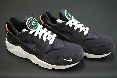 size 40 d78dc 0f701  704830 015  New Men s Nike Air Huarache Run Prm Oil Grey Sail Rainforest  Le1065