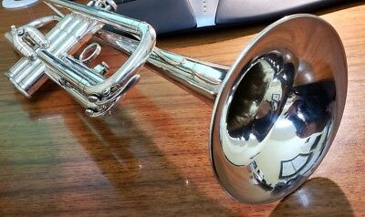Yamaha YTR 232S Silver Trumpet in Great Condition