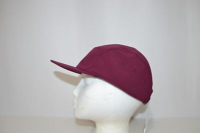 New Lululemon Five Times Hat Women's One Size Burgundy White MSRP $38