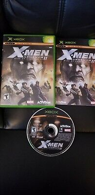 X-Men Legends 2 Rise of Apocalypse - XBOX - Complete CIB fast free shipping