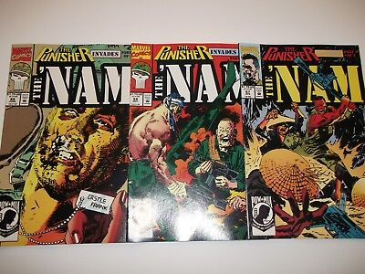 The Nam #67 68 69 (1992) Punisher 3 part story NM