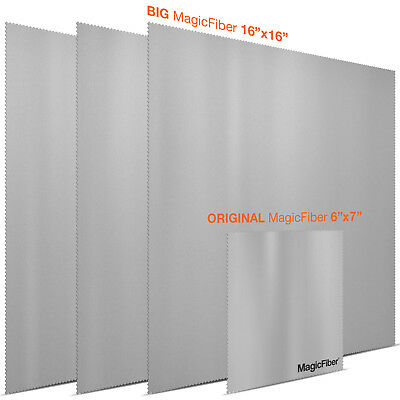 MagicFiber Microfiber Cleaning Cloths - GRAY EXTRA LARGE PACK