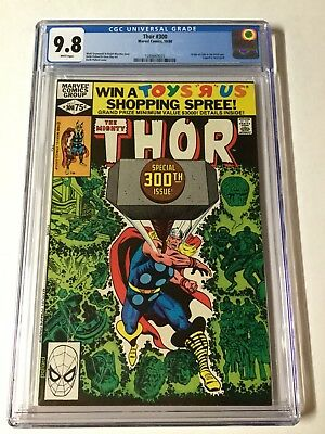 Thor 300 Cgc 9.8 White Pages