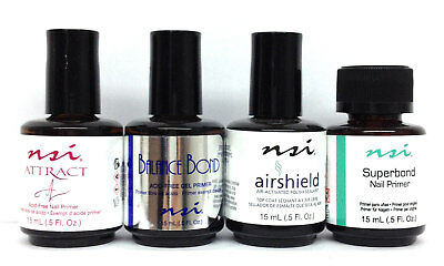 NSI - Attract/Balance Nail Essential System - Bond/Primer 0.5oz - Pick Any