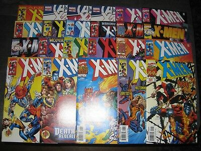 (O146) X-MEN (1991)  comic book (LOT OF 23) ranging from # 91- 270