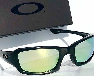 f851cb81454b3 NEW  Oakley FIVES Squared Matte BLACK POLARIZED FIRE   Grey Lens Sunglass  oo9238