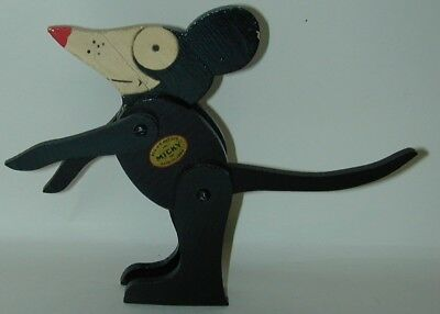 MICKY Not Mickey Mouse Performo Jointed Flat Wood Posable Figure Circa 1928