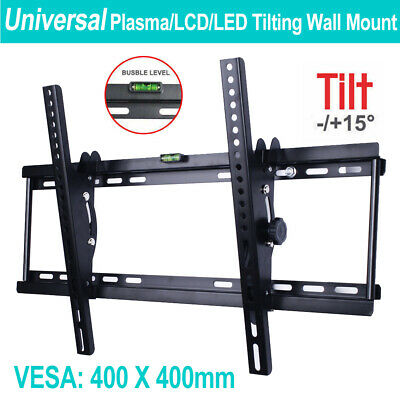 Universal Plasma LED LCD Tilting Flat Plasma TV Bracket Wall Mount 32-70 AU