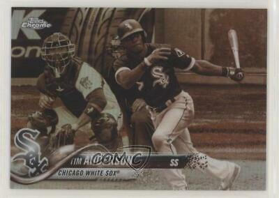 2018 Topps Chrome Sepia Refractor #44 Tim Anderson Chicago White Sox Card