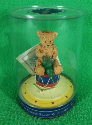 New Market Design Christmas Teddy Bear Cookie Stamp - New