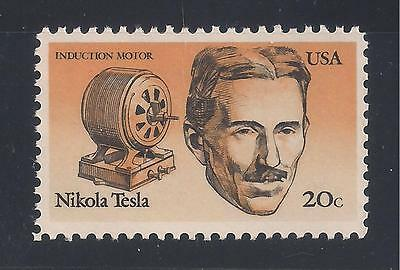 Nikola Tesla - Inventor - U.s. Postage Stamp - Mint Condition