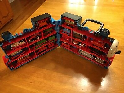 Thomas and Friends Carry Case and 20 Diecast Thomas Trains