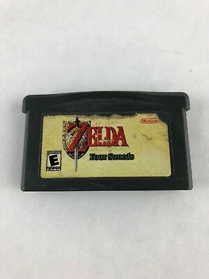 Legend of Zelda: Link To The Past Four Swords Nintendo Game Boy Advance GBA