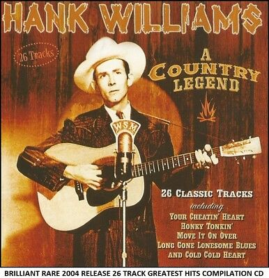 Hank Williams - Very Best Greatest Hits Collection - RARE 2004 Country Music CD