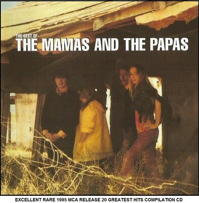 The Mamas & The Papas - Very Best 20 Greatest Hits Collection CD 60's Mama Cass