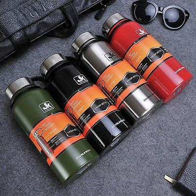 Sport Thermos Stainless Steel Insulated Vacuum Flask Large Capacity Thermoses