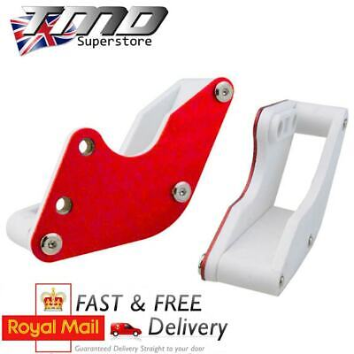 Red CNC Alloy Chain Guard Guide Runner Pit Bike Pitbike Motorcycle Aluminium