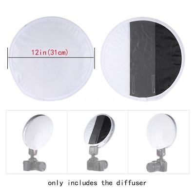 Round Photography Shooting Diffuser Softbox for Camera Godox Speedlight Flash ST