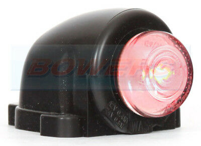 Cab Top Roof Or Side Wing Mount Rear Red Led Marker Lamp Light Truck Car Van