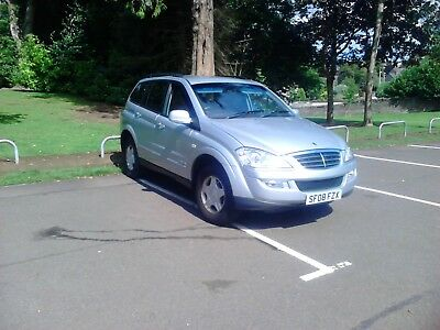 2008 Ssangyong Kyron 2.0 S 4Wd Turbo Diesel Manual 5 Door Estate Service History